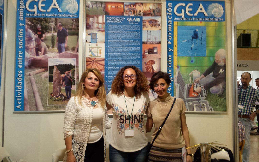 """Entrevista sobre """"Geobiología y Radiestesia"""" en el stand de """"GEA"""" en Biocultura-Sevilla 2.017"""